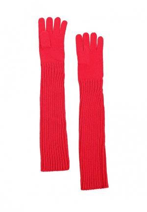 Перчатки Knitted Kiss. Цвет: красный