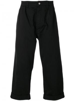 Укороченные брюки Winter Paul Société Anonyme. Цвет: чёрный