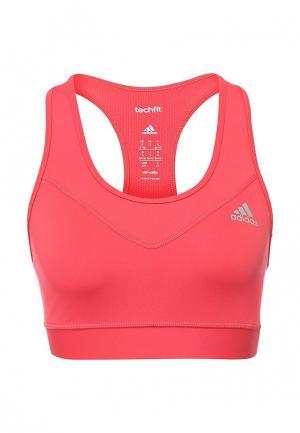 Топ спортивный adidas Performance. Цвет: розовый