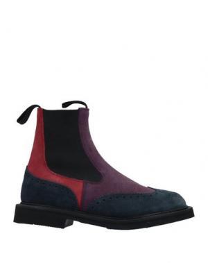 Полусапоги и высокие ботинки TRICKER'S. Цвет: розовато-лиловый