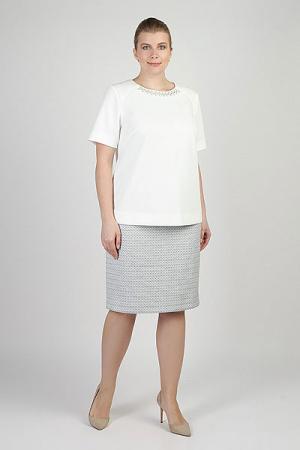 Блузка  Женская La-11017 WHITE Steinberg. Цвет: белый