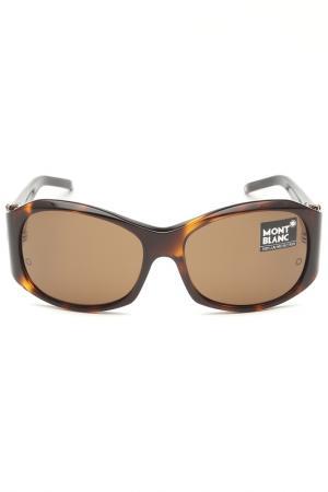 Очки солнцезащитные Montblanc. Цвет: 52e