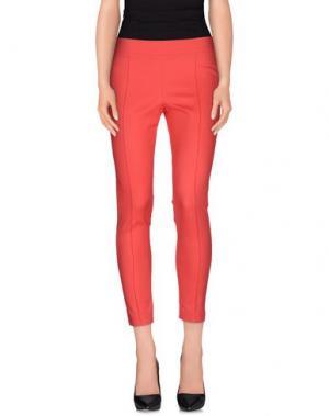 Повседневные брюки LA KORE. Цвет: коралловый