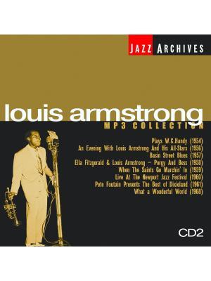 Louis Armstrong CD2 (компакт-диск MP3) RMG. Цвет: прозрачный