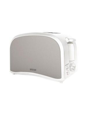 Тостер Mystery MET-2103 800Вт белый. Цвет: белый