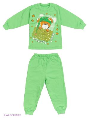 Пижамы Утенок. Цвет: зеленый