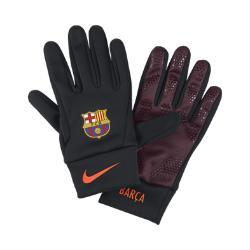 Перчатки FC Barcelona Stadium Nike. Цвет: черный
