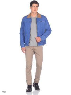 Куртка HAWKINS JACKET Wrangler. Цвет: лазурный