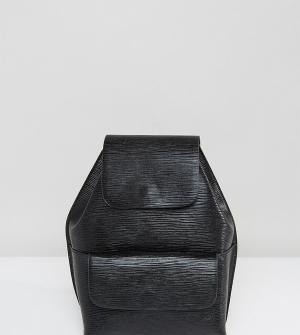 Street Level Структурированный мини-рюкзак. Цвет: черный