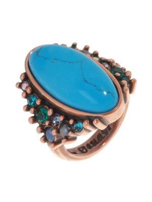 Кольцо Jenavi. Цвет: бронзовый