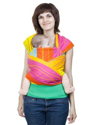 Май-слинг Детство Чудо-Чадо. Цвет: фиолетовый, желтый, оранжевый