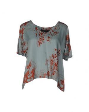 Блузка NICE THINGS BY PALOMA S.. Цвет: светло-зеленый
