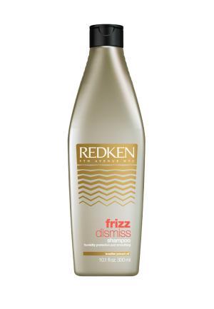 Шампунь Frizz Dismiss Redken. Цвет: золотой