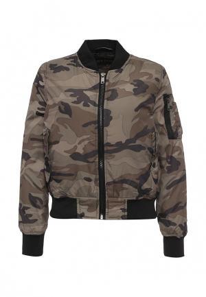 Куртка QED London. Цвет: хаки