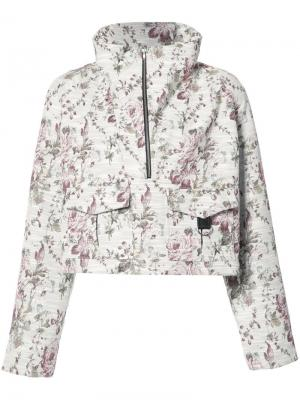 Анорак Clarke с цветочным узором A.L.C.. Цвет: телесный