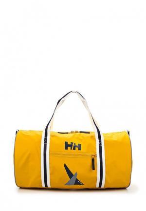 Сумка спортивная Helly Hansen. Цвет: желтый
