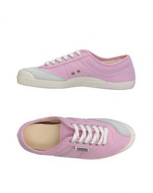 Низкие кеды и кроссовки KAWASAKI. Цвет: розовый
