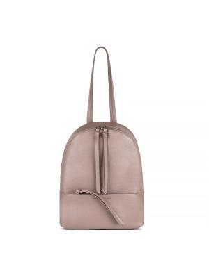 Рюкзак с плечевым ремнем Avanzo Daziaro. Цвет: темно-бежевый