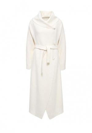 Пальто Voielle. Цвет: белый