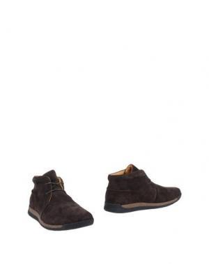 Полусапоги и высокие ботинки SCHOLL. Цвет: темно-коричневый