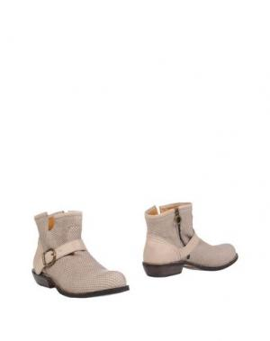 Полусапоги и высокие ботинки FIORENTINI+BAKER. Цвет: серый