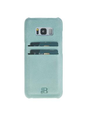Чехол бампер Samsung Galaxy S8 Plus Burkley. Цвет: голубой