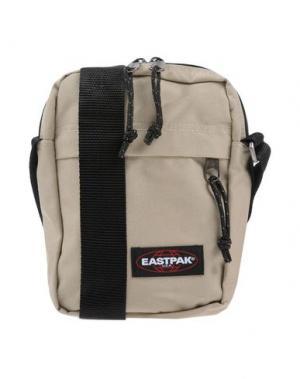 Сумка через плечо EASTPAK. Цвет: бежевый