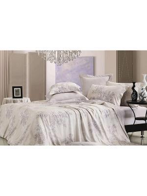 Комплект постельного белья ЕВРО Dream time. Цвет: сиреневый