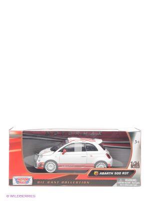 Машина 1к24 Abarth 500 R3T Motormax. Цвет: белый