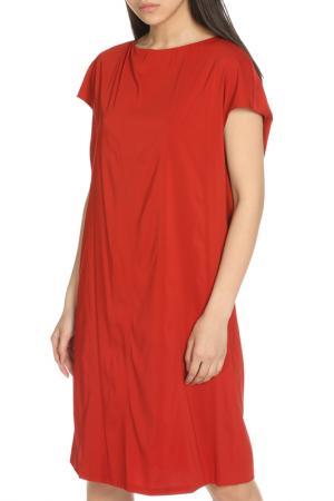 Платье Marni. Цвет: терракотовый