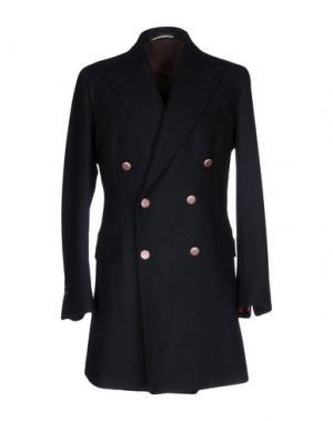 Пальто REVERES 1949. Цвет: темно-синий