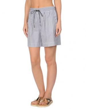 Пляжные брюки и шорты VICTORIA BECKHAM DENIM. Цвет: синий