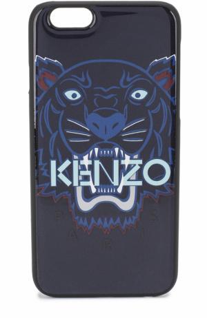 Чехол для iPhone 6 с принтом Kenzo. Цвет: синий