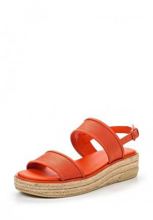 Босоножки DKNY. Цвет: оранжевый