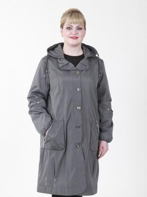 Пальто Одри VIKO. Цвет: светло-серый