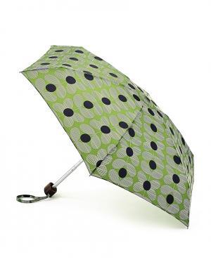 Зонт механический Цветы  by Fulton Orla Kiely. Цвет: зеленый
