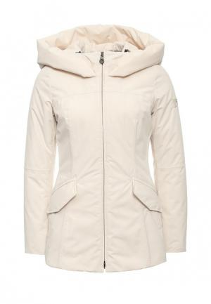 Куртка утепленная Peuterey. Цвет: бежевый