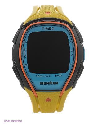 Часы TIMEX. Цвет: желтый