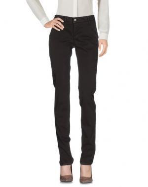 Повседневные брюки 0/ZERO CONSTRUCTION. Цвет: темно-коричневый