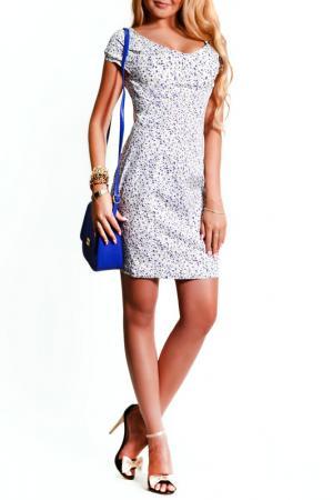 Платье FRANCESCA LUCINI. Цвет: колокольчик