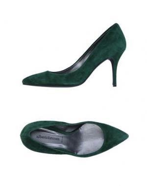Туфли ALBERTO BRESSAN. Цвет: зеленый