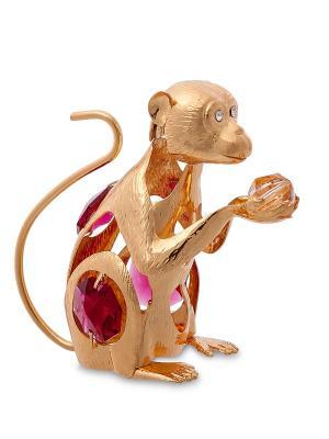 Фигурка Обезьяна с цв. кр. (Юнион) Юнион. Цвет: золотистый