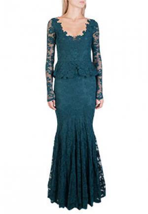 Платье OLVI`S. Цвет: зеленый