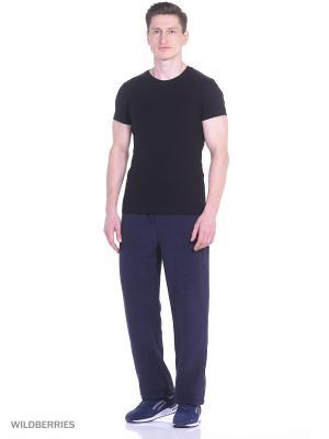 Спортивные брюки Modis. Цвет: черный, фиолетовый