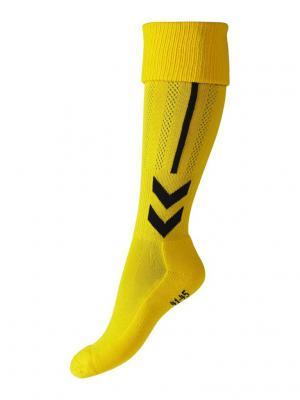 Гетры CLASSIC FOOTBALL SOCK HUMMEL. Цвет: желтый, черный