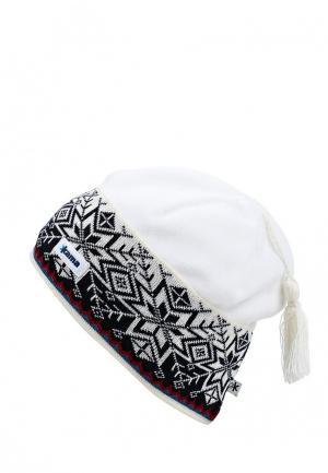Шапка Kama. Цвет: белый