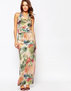 Amy Childs Платье макси Liberty. Цвет: мульти