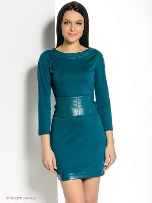 Платье SUGARLIFE. Цвет: бирюзовый