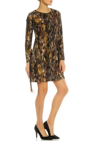 Платье Beatrice. B. Цвет: черно-коричневый