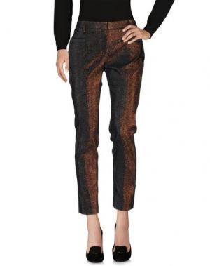 Повседневные брюки TRUE ROYAL. Цвет: бронзовый